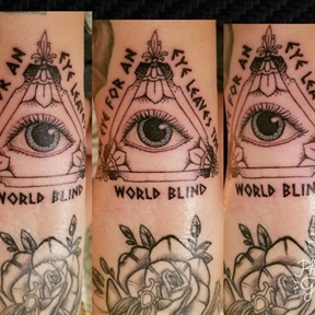 An eye for an eye leaves the world blind