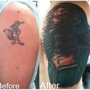 Gypsy over Cartoon Cover Up